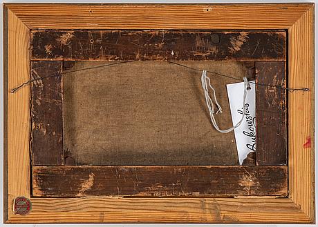 John warkup swift, olja på duk, signerad.