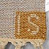 Ingegerd silow, a carpet, flat weave, ca 240 x 175,5 cm, signed is.