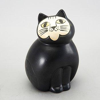 """Lisa Larson, cat, stoneware, """"Mia"""", K-Studio, Gustavsberg."""