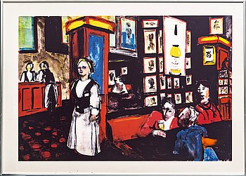Peter Dahl, lithograph in colours, signed 270/375.