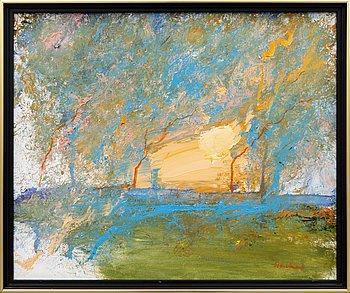 Jan Stenvinkel, a signed oil on canvas.