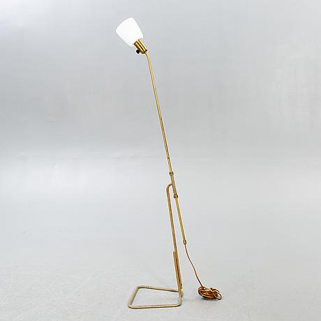 Einar bäckström, floor lamp, eb 6407, mid-20th century.