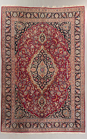 A semiantique khorassan carpet ca 390 x 300 cm.