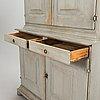 An 18th-century cupboard.
