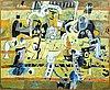 Unknown artist, oil on canvas, purchased in 1967 copenhagen.