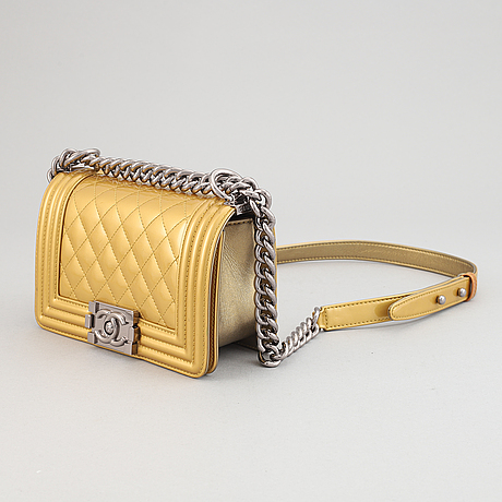 Chanel, a patent leather 'boy bag', 2005-06.