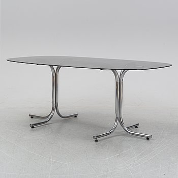 A dining table, Italy, 1980's.