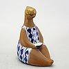 Lisa larson, a stoneware figurine from gustavsberg.