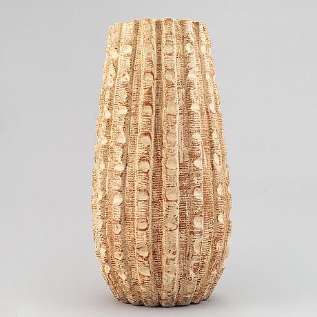 Vicke lindstrand, a large earthenware vase, upsala ekeby.