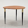 A 1950's coffee table designed by h. sundling, tranås.