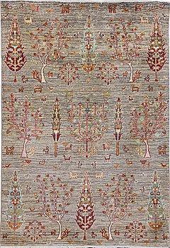 A carpet, Khorjin, ca 177 x 120 cm.