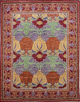 A carpet, oriental, ca 306 x 240 cm.