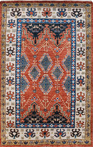Matto, oriental, ca 249 x 161 cm.