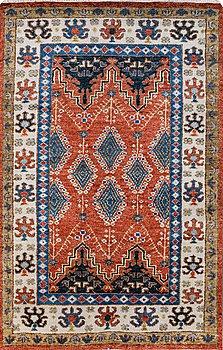A carpet, oriental, ca 249 x 161 cm.