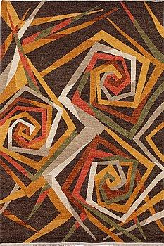 A rug, Soumak teqnique, ca 273 x 183 cm.