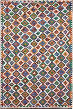 A carpet, kilim, ca 297 x 200 cm.