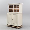 A painted cabinet, late 19th century.