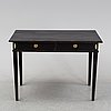 A painted writing desk, gustavian style, 20th century.