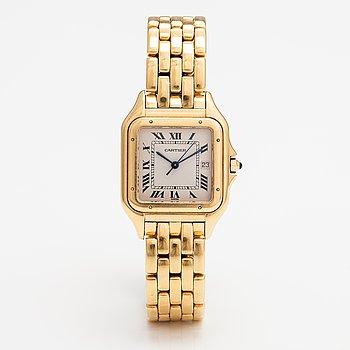 Cartier, Panthere, medium, armbandsur, 27 x 37 mm,