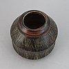 Carl-harry stålhane, a stoneware vase for rörstrand ateljé.