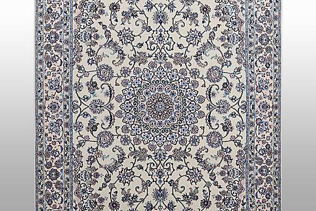 Matta, nain, part silk, 6 laa, ca 250 x 160 cm.