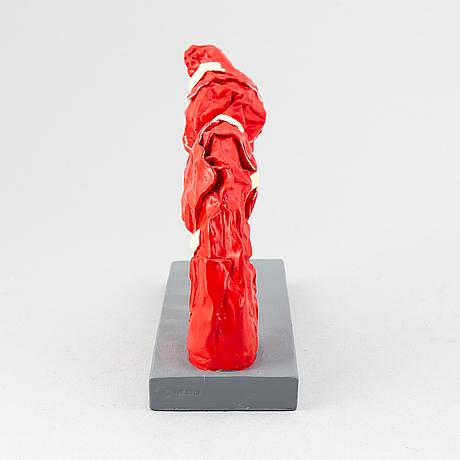 Carl-fredrik reuterswärd/ the non-violence project foundation, skulptur 2017. certifikat medföljer, numrerat 24/30.