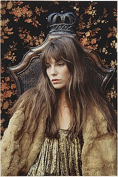 Ewa Rudling, photograph of Jane Birkin signed and dated 1975, numbered 7/30.