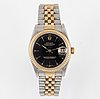 Rolex, oyster perpetual, datejust, wristwatch, 31 mm.