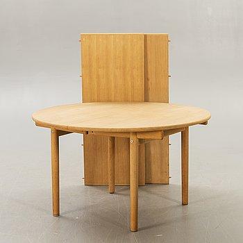 """Hans J Wegner, matbord, ek, """"PP70"""", Alleröd Denmark."""