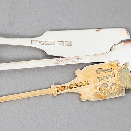 Skedar, 39 st, silver, helsingfors stadsvapen, åbo, finland 1936 - 1974.