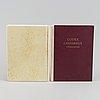 Beatiful facsimile of an eleventh-century gospel-book (2 vol).
