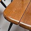 Ilmari tapiovaara,  a set of six 1960's 'pirkka' chairs, for laukaan puu.