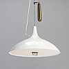 Paavo tynell, a mid-20th century 'a 1965' pendant light for idman.
