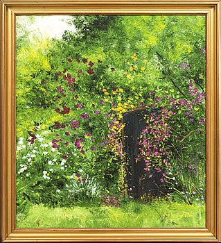 Ann-Marie Jönsson, oil on canvas signed and dated.