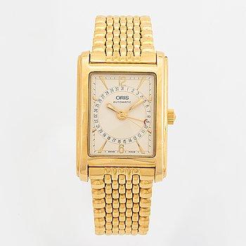 ORIS, Classic Rectangular, wristwatch, 26 x 38 mm.