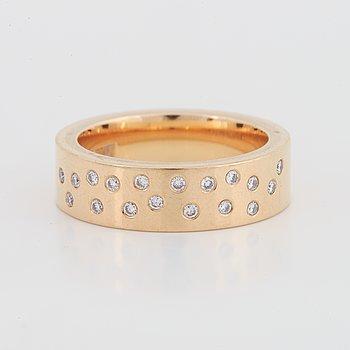 Brilliant-cut diamond ring, Jarl Sandin, Göteborg.
