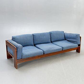 Tobia Scarpa, a jacaranda Bastiano sofa for Haimi 1960s.
