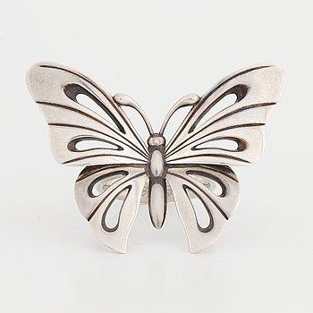 Georg Jensen, Regitze Overgaard, ring, silver, fjäril.