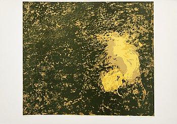 Ola Billgren, color lithograph, signed -85 trail print.