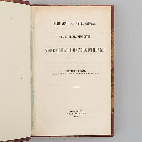 Rääf om ydre härad i östergötland (6 vol).