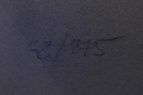 Lennart nyström, färglitografi, signerad och numrerad 68/175.