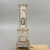 A cast iron stove early 1900s.