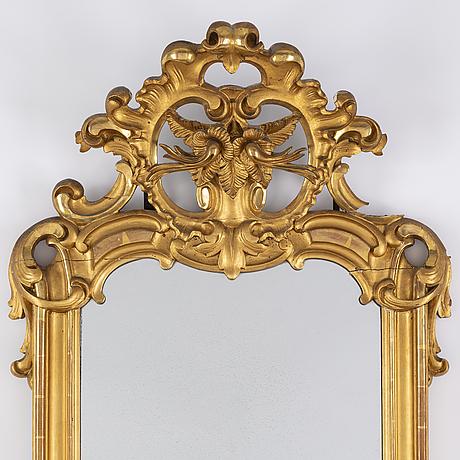 A neo-rococo mirror, second half of the 19th century.