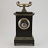 A late empire mantle clock, first half of the 19th century.