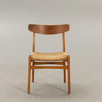 """Hans J Wegner, a chair, """"Spisestolen"""", CH-23."""