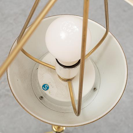 Josef frank, golvlampa, modell 2564, firma svensk tenn.