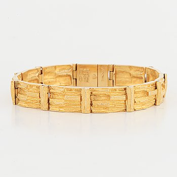 "Björn Weckström, armband, ""Kaskad"", 18K guld, Lapponia."