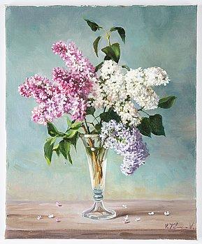 Vjeteslav Kliuchnikov, oil on canvas, signed.