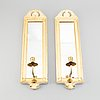 A pair of 'regnaholm' mirror sconses from ikea, 1990's.