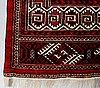 A carpet, old, turkmen, ca 317 x 210 cm.